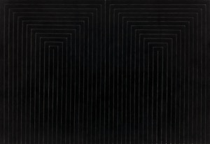 Frank Stella, The Marriage of Reason and Squalor, 1959