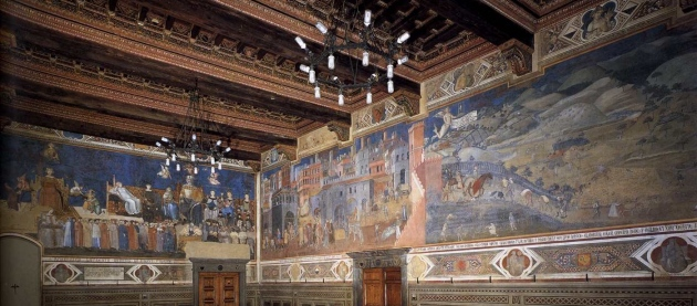 Lorenzetti, Allegory of Good Government