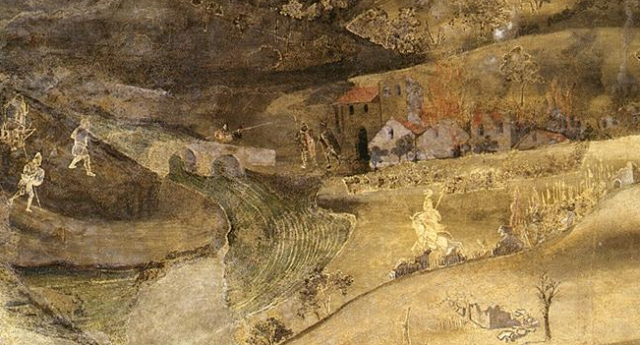 Detail, Lorenzetti Allegory of Good and Bad Government