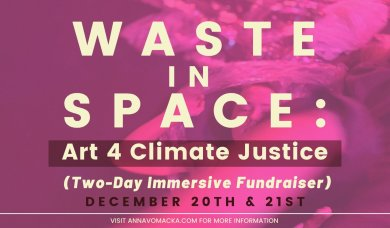 Waste in Space poster